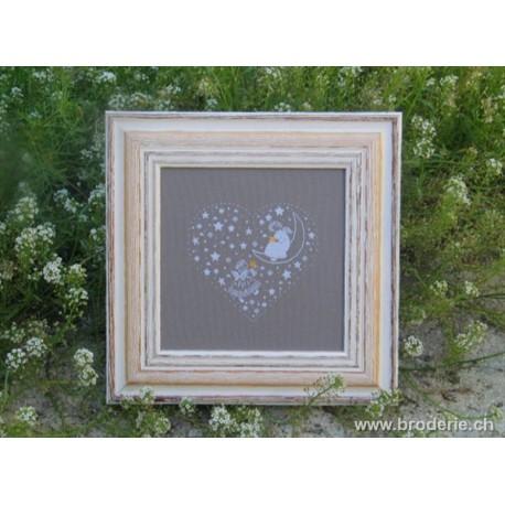 Couleur d'étoile, grille Flocon d'Etoile (CE0081)