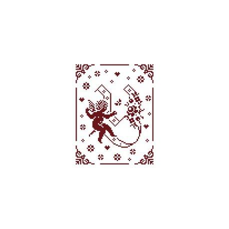 Couleur d'étoile, grille Mon Ange lettre Y (CE0079Y)