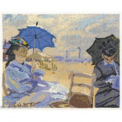 DMC, kit Claude Monet - The Beach at Trouville (DMC-BL1064)