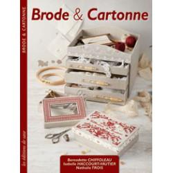 Editions de Saxe, Livre Brode et Cartonne (MLAB187)