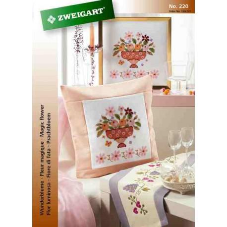 Zweigart, catalogue de modèles - Fleurs magiques (104-220)
