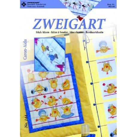 "Zweigart, catalogue de modèles ""Caron"" (102-144)"