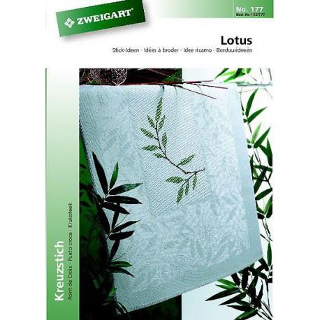 """Zweigart, catalogue de modèles """"Lotus"""""""" (102-177)"""