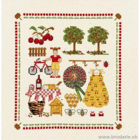 Bonheur des Dames, kit accessoires campagne (BD2612)