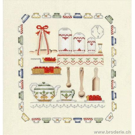 Bonheur des Dames, kit accessoires cuisine (BD2613)