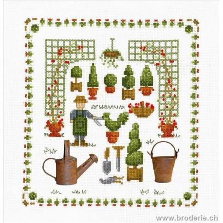 Bonheur des Dames, kit accessoires jardin (BD2615)