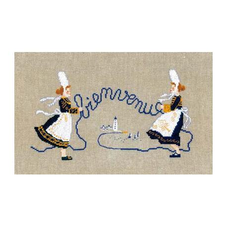Bonheur des Dames, kit Bienvenue femmes bretonnes (BD1066)