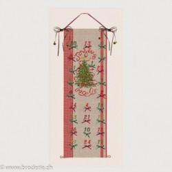 Bonheur des Dames, kit calendrier de l'Avent Sapin (BD5092)