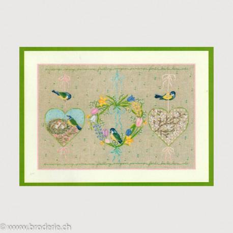 Bonheur des Dames, kit Coeur printanier (BD1158)