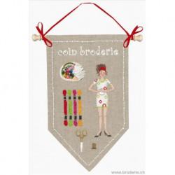 Bonheur des Dames, kit coin broderie (BD5068)