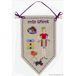 Bonheur des Dames, kit coin tricot (BD5066)