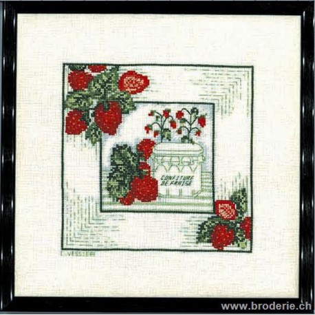 Bonheur des Dames, kit confiture de fraise (BD1884)