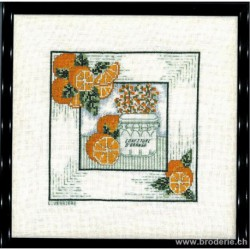 Bonheur des Dames, kit confiture d'orange (BD1883)