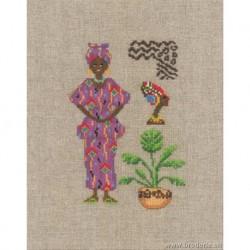 Bonheur des Dames, kit Femme africaine (BD2334)