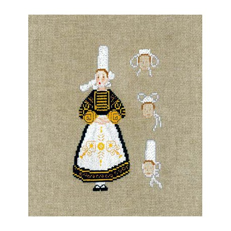 Bonheur des Dames, kit Femme bretonne (BD2340)