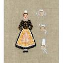 Bonheur des Dames, kit Femme bretonne (BD2339)