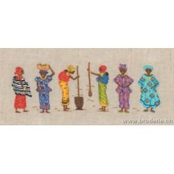 Bonheur des Dames, kit Femmes africaines (BD3653)