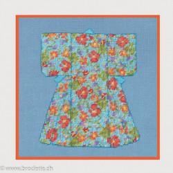 Bonheur des Dames, kit kimono fleuri - miniature (BD3657)