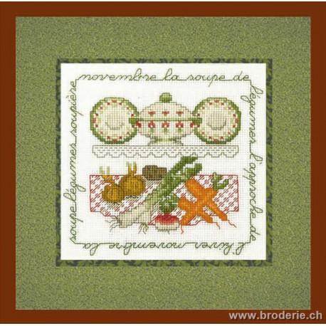 Bonheur des Dames, kit la soupe de légumes (BD2237)