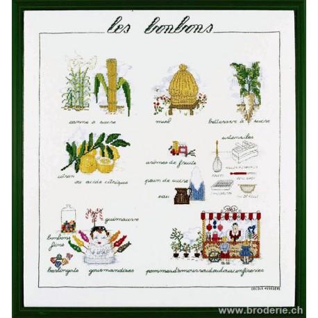 Bonheur des Dames, kit les bonbons (BD1186)