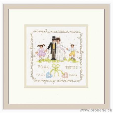 Bonheur des Dames, kit les mariés (BD2244)