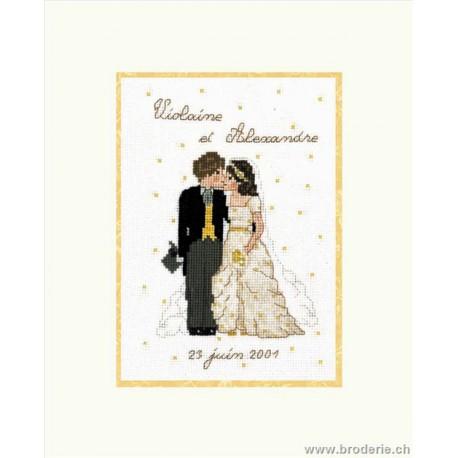 Bonheur des Dames, kit mariage (BD2317)