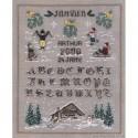 Bonheur des Dames, kit miniature janvier (BD3611)
