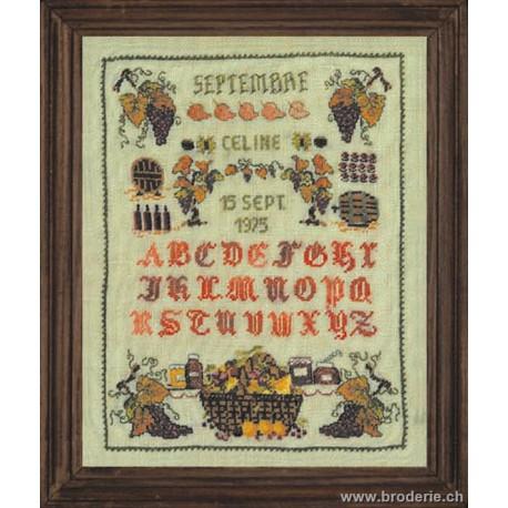 Bonheur des Dames, kit miniature septembre (BD3608)