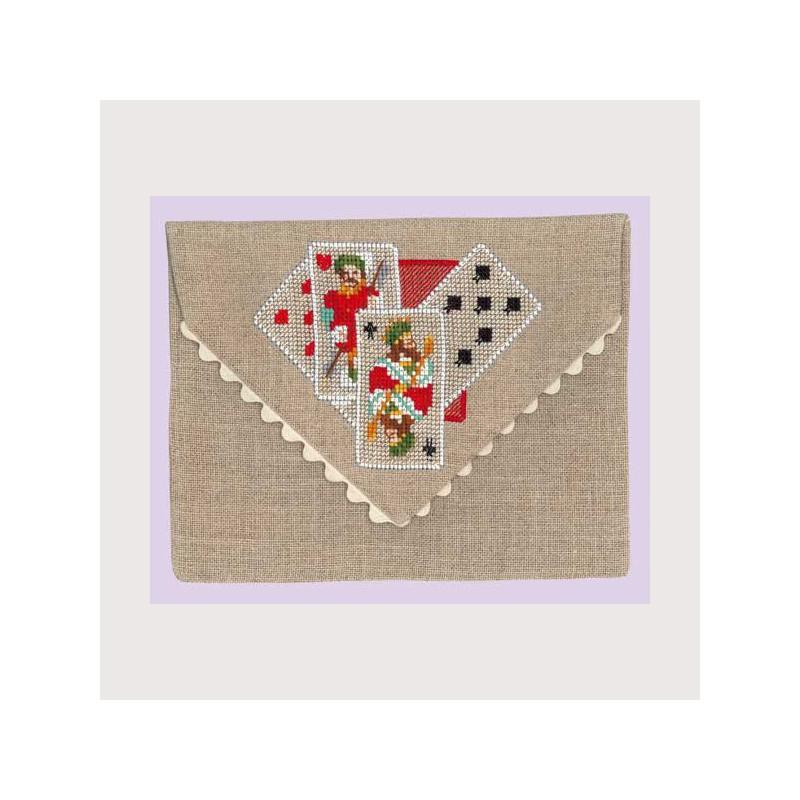 bonheur des dames kit pochette cartes de jeux bd5064 au point compt. Black Bedroom Furniture Sets. Home Design Ideas