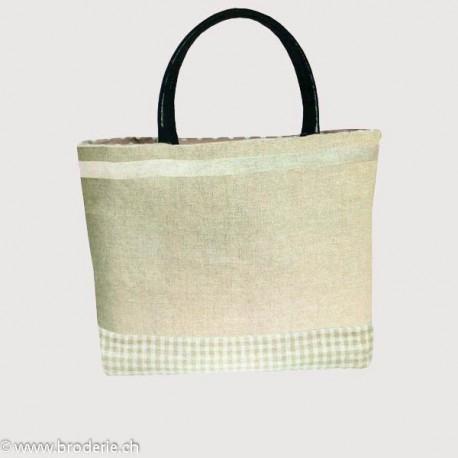 Bonheur des Dames, kit pour sac blanc et ficelle (BD8510)