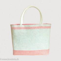 Bonheur des Dames, kit pour sac rouge et blanc (BD8513)