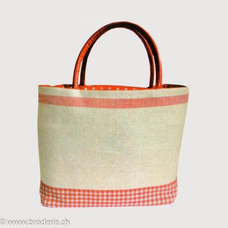 Bonheur des Dames, kit pour sac rouge et ficelle (BD8511)