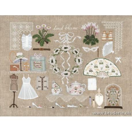 Bonheur des Dames, kit tout blanc (BD2682)