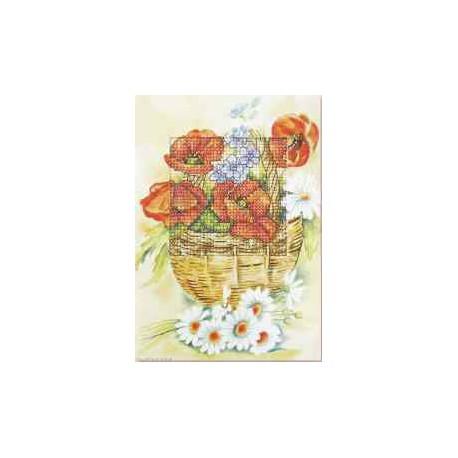 Orchidea, kit Carte de voeux Coquelicots (OR6212)