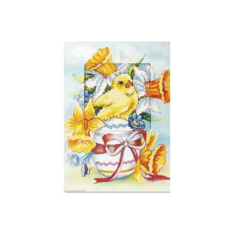 Orchidea, kit Carte de voeux Pâques (OR6218)