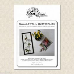 Ajisai, grille Swallowtail Butterflies (AJA23)