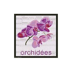 Marie Coeur, kit Orchidées (MC1705-4698B)