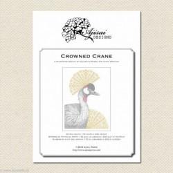Ajisai, grille Crowned Crane (AJA44)