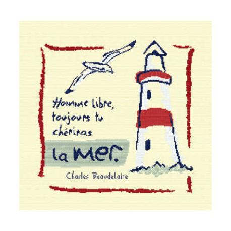 LiliPoints, Grille Atlantique - Homme libre (A004)