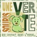 LiliPoints, Grille Enfant - une souris verte (E014)