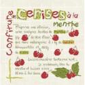 LiliPoints, Grille Gourmandise - confiture de cerises (G006)