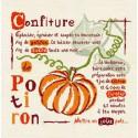 LiliPoints, Grille Gourmandise - Confiture de potiron (G001)