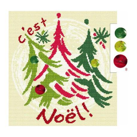 LiliPoints, Grille Noël (N011)
