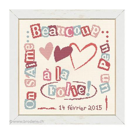 LiliPoints, Grille Bonheur - On s'aime (BN008)
