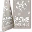 LiliPoints, grille ma couleur - Blanc comme neige (X004)