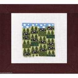 Points Com, grille Les vaches se mettent au vert (PCO2100)
