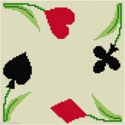 ClBroderie, tapis de carte Troupeau de moutons (TDC06)