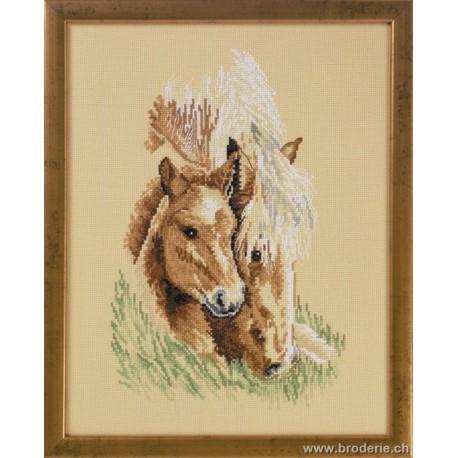 Permin, kit le cheval et le poulain (PE90-6161)