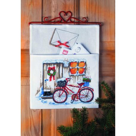 Permin, kit pochette courrier de Noël (PE22-5215)