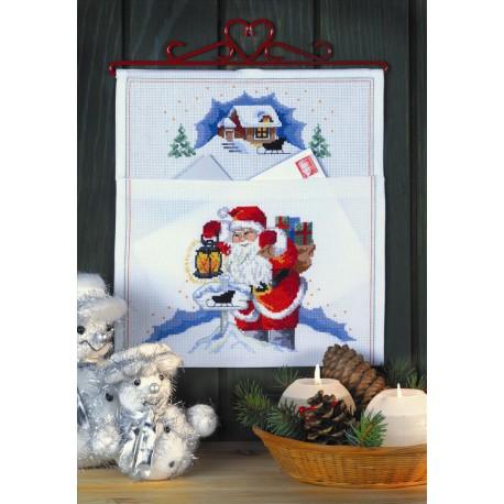 Permin, kit pochette courrier de Noël (PE22-6215)
